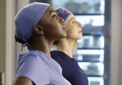 Grey's Preview: Who Will 'Step Up' When Amelia's Surgery Hits a Snag?