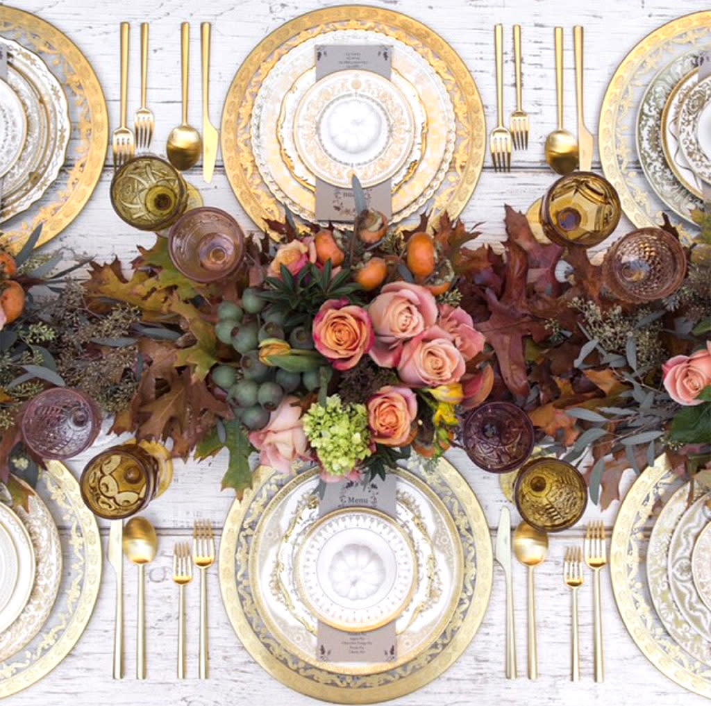 Jessica Simpson Shows Off Her Gorgeous Thanksgiving Tablescape