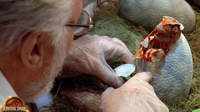 "Even in 3D, can Jurassic Park recapture that ""gut-level awe""?"