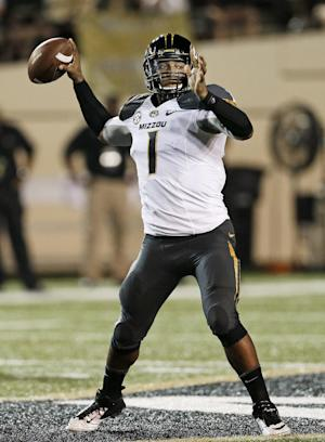 Franklin back at QB for No. 8 Missouri