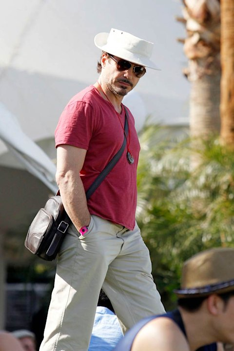 Robert Downey Jr Coachelle