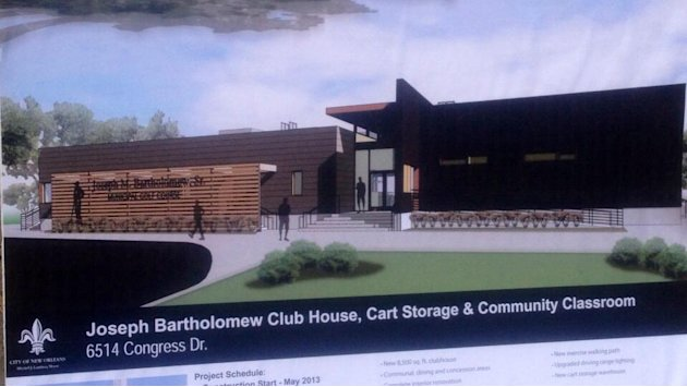 Golf course clubhouse to serve Pontchartrain Park community