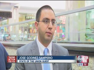 Undocumented immigrant in Tampa invited to the State of the Union address