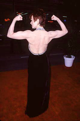 Frances Fisher at the premiere of Paramount's Titanic