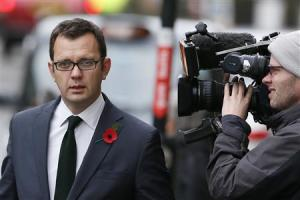 Former News of the World editor Coulson arrives at a courthouse in London