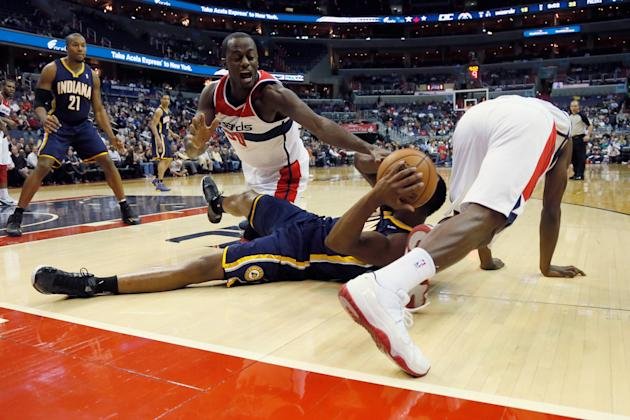 Indiana Pacers v Washington Wizards