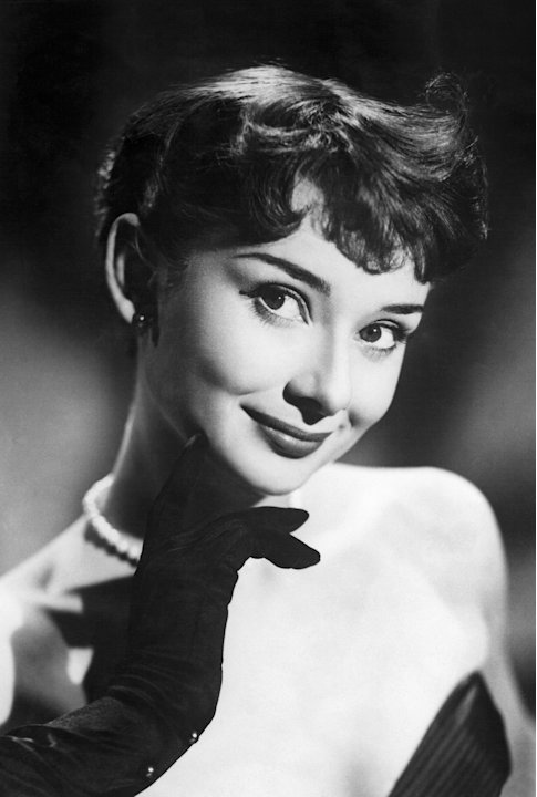 A photograph of actress Audrey Hepburn, taken May 10, 1951.