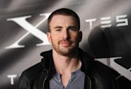 Chris Evans arrives at Tesla Worldwide Debut of Model X in Los Angeles on February 9, 2012 -- Getty Images