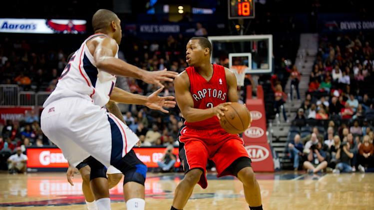 NBA: Toronto Raptors at Atlanta Hawks
