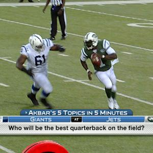Akbar's 5 in 5: Will New York Jets QB Michael Vick be more valuable than Geno Smith?