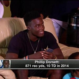 How will rookie wide receiver Phillip Dorsett fit in the Colts offense?