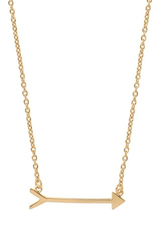 Gold Vermeil Arrow Necklace