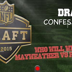 NFL Draft Confession Camera: Mayweather vs. Pacquiao