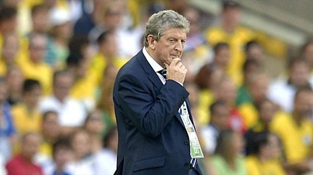 Roy Hodgson felt his side deserved the draw against Brazil