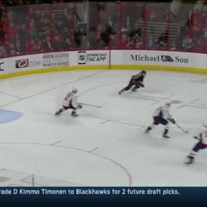 Braden Holtby Save on Jeff Skinner (12:26/3rd)