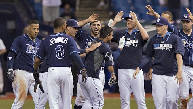 Figueroa's 2B in 9th leads Rays past Red Sox 1-0