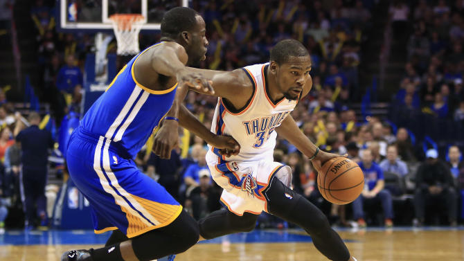 Kevin Durant lifts Thunder as Westbrook recovers
