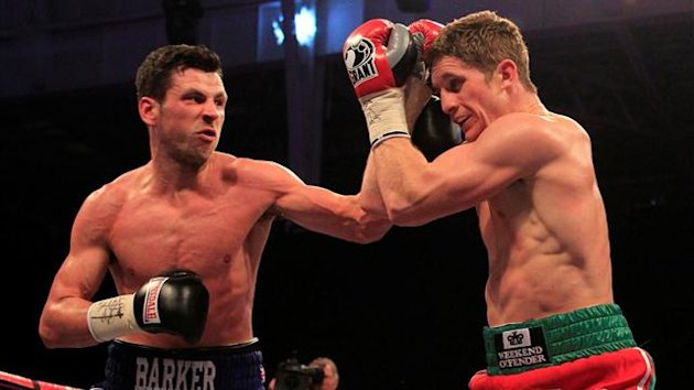 Darren Barker would defeat Kerry Hope in his return to boxing (photo: Lawrence Lustig)
