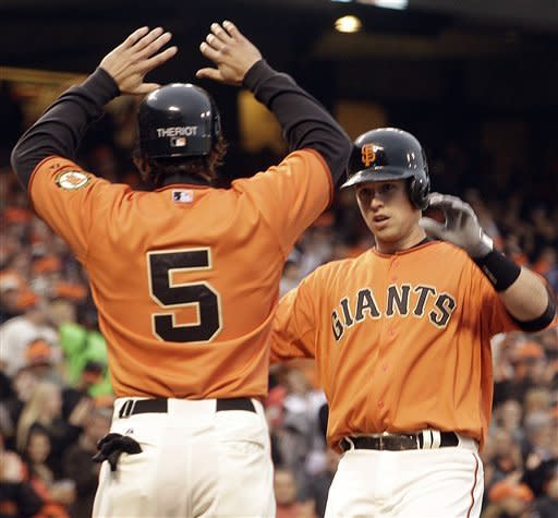 Giants, Sandoval blow past Astros 5-1