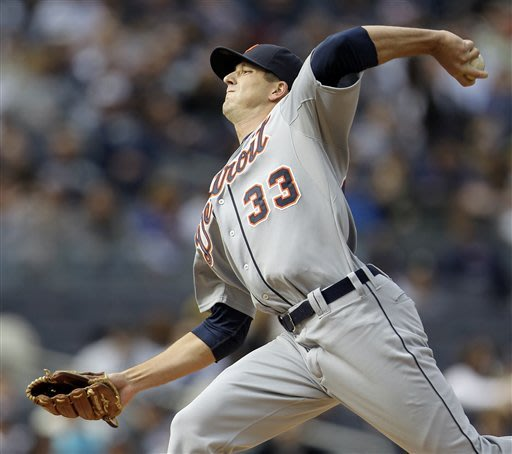 Smyly gets first big league win, Tigers top Yanks