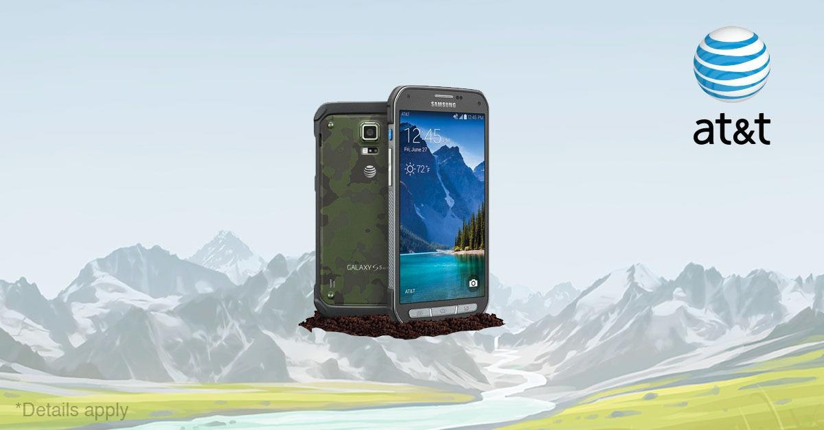 Samsung Galaxy S5 Active - Now Free!