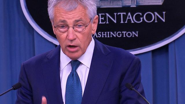 "Hagel on military sexual assault: ""We're all outraged and disgusted"""