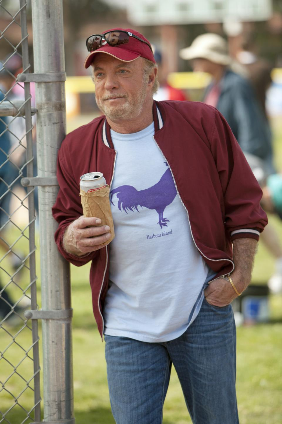 "This TV publicity image released by ABC shows James Caan in a scene from the new series ""Back in the Game,"" premiering this fall.  (AP Photo/ABC, Randy Holmes)"