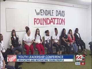 Group Encouraging Young People During Annual Conference
