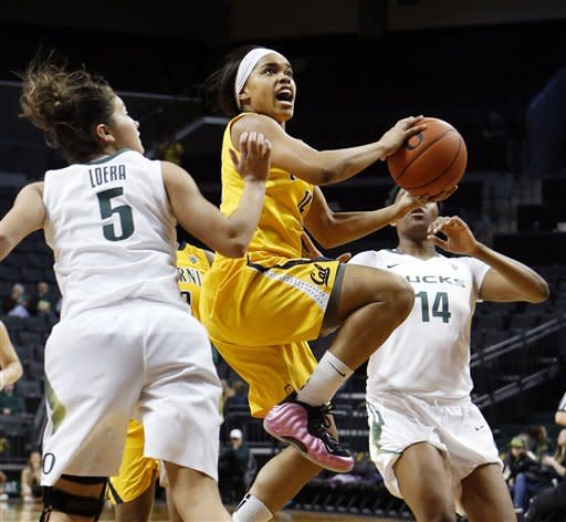Clarendon leads No. 6 Cal women past Oregon 72-45