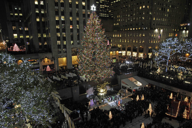 The Rockefeller Center Christmas …