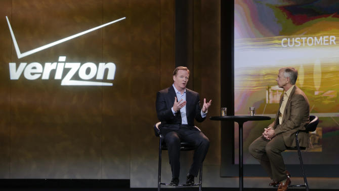 Verizon posts record 4Q loss on pension adjustment
