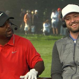 Ribeiro and Timberlake interview during Round 3 of AT&T Pebble Beach