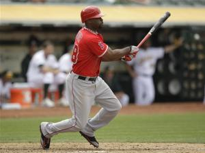 Angels beat A's 7-1 to complete 3-game sweep