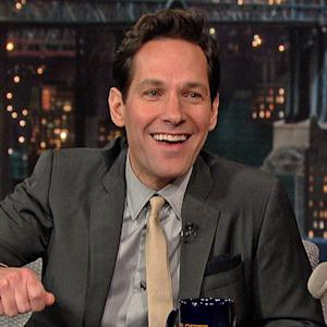 David Letterman - Paul Rudd's Squirrel Problem