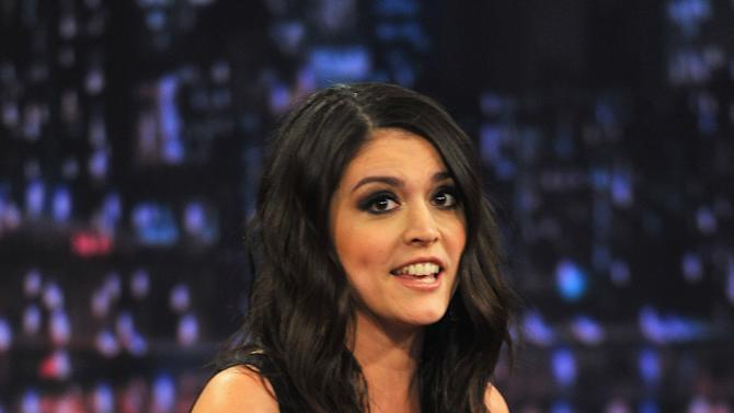 """Cecily Strong Visits """"Late Night With Jimmy Fallon"""""""