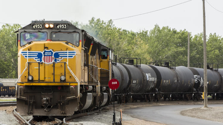 Union Pacific 3Q profit up 15 pct. on price hikes