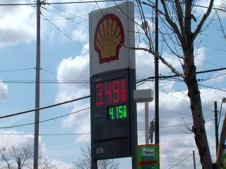 Gas prices 4-15-13