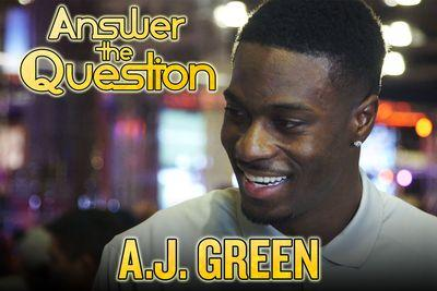 A.J. Green goes on Super Bowl game show, talks Katy Perry and chocolate