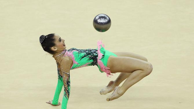 FIG Rhythmic Gymnastics Olympic Qualification - LOCOG Test Event for London 2012: Day One