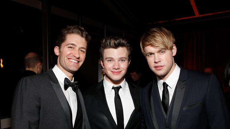 Matthew Morrison, Chris Colfer and Chord Overstreet