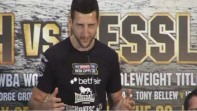 Boxing - Froch ready for Kessler rematch