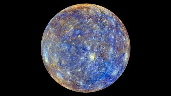 Colorful Map of Mercury Snapped by NASA Spacecraft (Video)