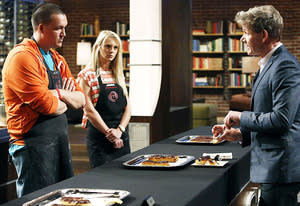 Jordan, Jessie and Gordon Ramsay | Photo Credits: Greg Gayne/FOX