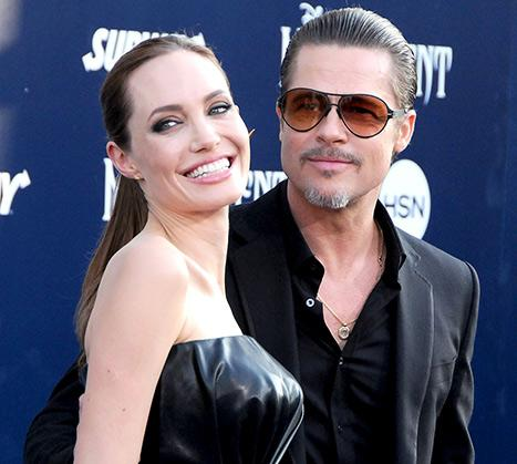 "Angelina Jolie Calls Marriage to Brad Pitt ""Hard Work"""
