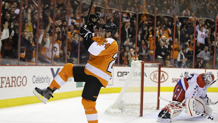 Jakub Voracek leads Flyers over Capitals, 5-2