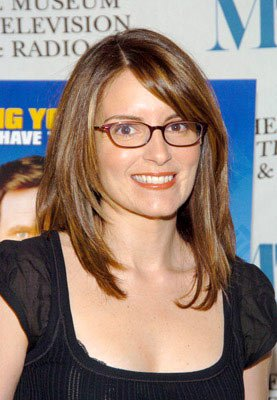 Premiere: Tina Fey at the New York premiere of Dreamworks' Anchorman - 7/7/2004