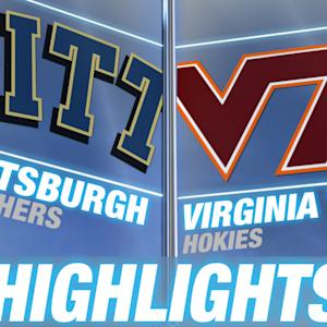 Pittsburgh vs Virginia Tech | 2014-15 ACC Men's Basketball Highlights