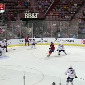 Michal Neuvirth Save on Jimmy Hayes (11:09/3rd)