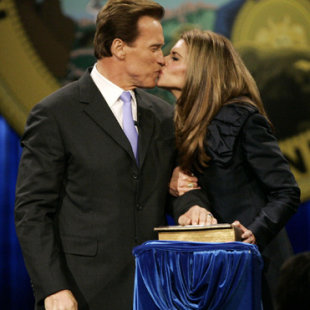 Arnold Schwarzenegger y Mara Shriver, reconciliacin a la vista?