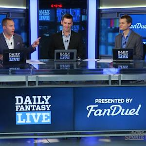 Daily Fantasy Live 6/29: Our lineups